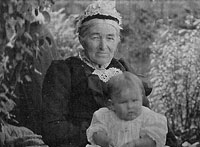 Ann Johnston (nee Benzie) 1836-1910 & Ronald Charles Johnston 1909-1983
