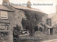 Holy Cottage in Glanton, Northumberland