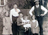 The Johnstons of Glanton, c1910