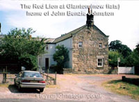 The Red Lion at Glanton (now flats), home of John Benzie Johnston